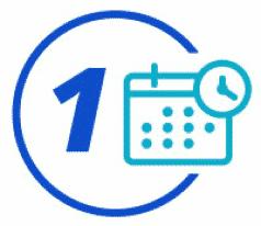 Step 1 - Schedule